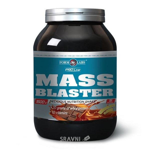 Фото Form Labs Mass Blaster 1000 g (10 servings)
