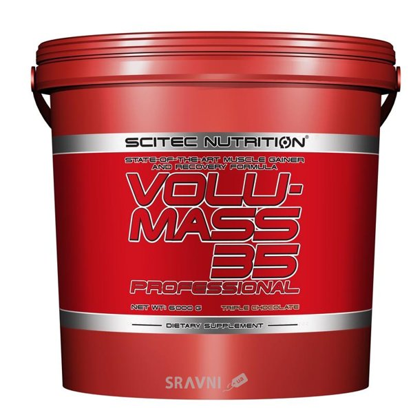 Фото Scitec Nutrition Volumass 35 Prof 6000 g