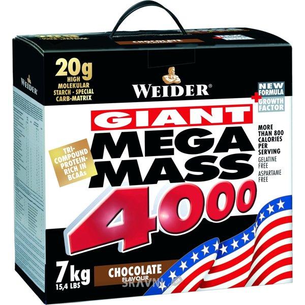 Фото Weider Giant Mega Mass 4000 7000 g