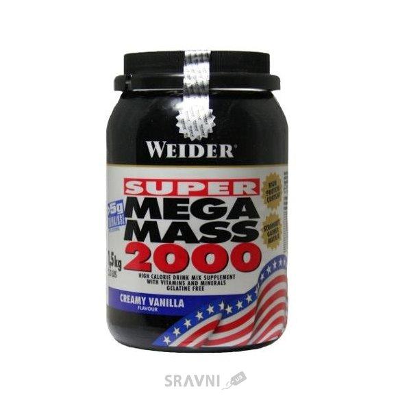 Фото Weider Super Mega Mass 2000 1500 g