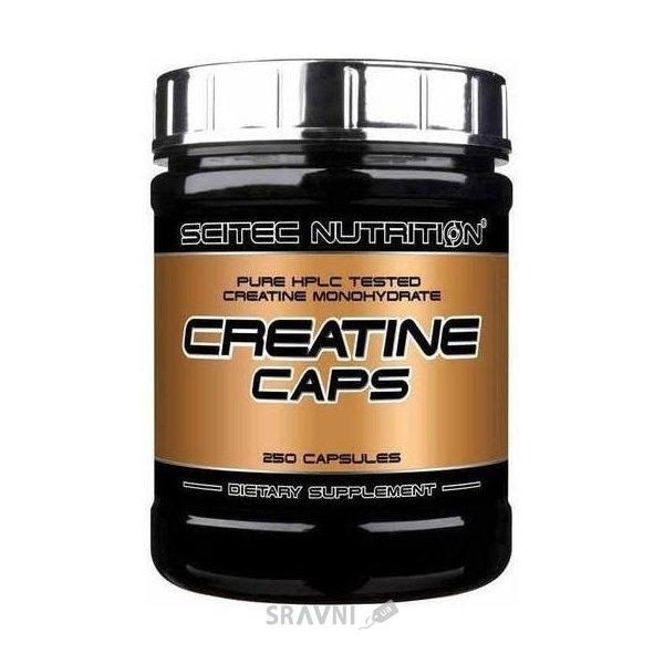 Фото Scitec Nutrition Creatine Caps 250 caps