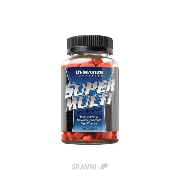 Фото Dymatize Super Multi Vitamin 120 caps