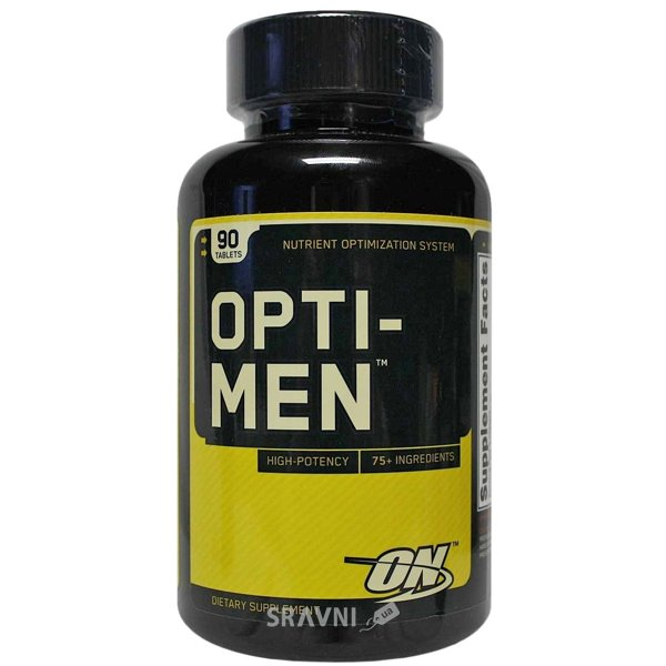 Фото Optimum Nutrition Opti-Men 90 tabs