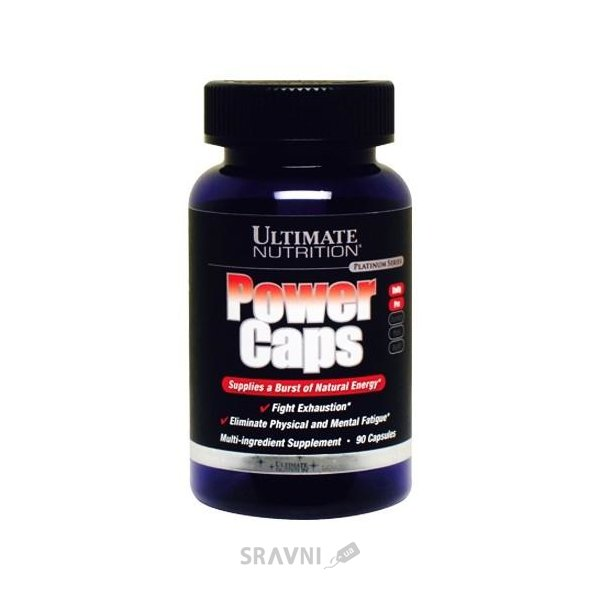 Фото Ultimate Nutrition Power Caps 90 caps