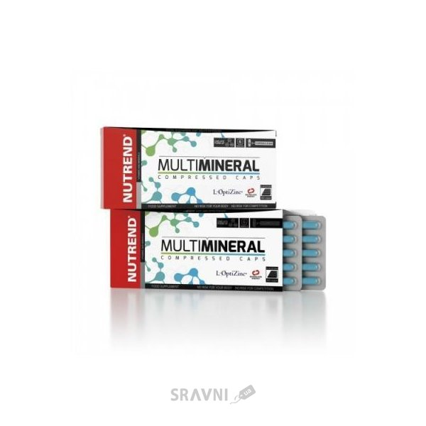 Фото Nutrend Multimineral Compressed Caps 60 caps
