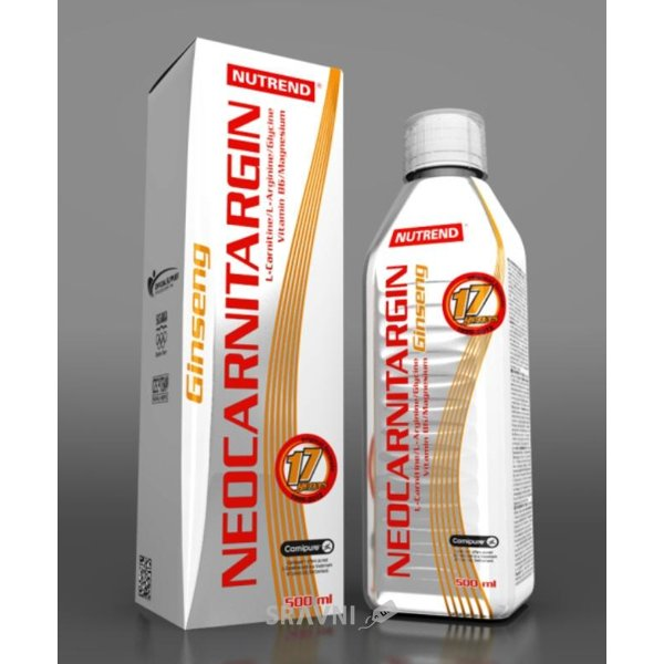 Фото Nutrend Neocarnitargin with Ginseng 500 ml