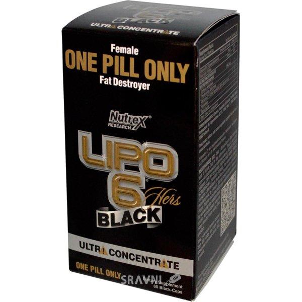 Фото Nutrex Lipo-6 Black Hers 60 caps