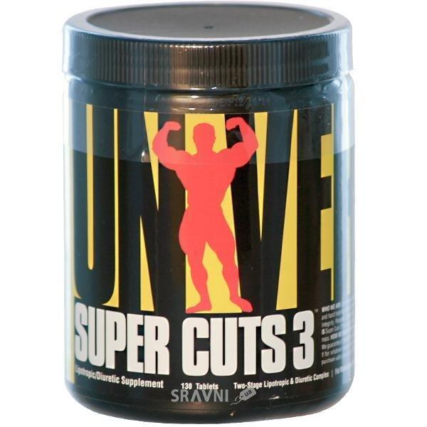Фото Universal Nutrition Super Cuts 3 130 tabs