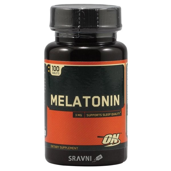 Фото Optimum Nutrition Melatonin 100 tabs