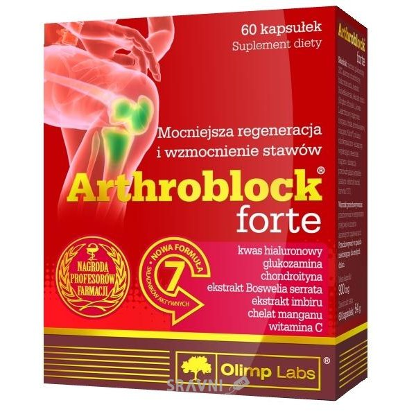 Фото Olimp Labs Arthroblock Forte 60 caps