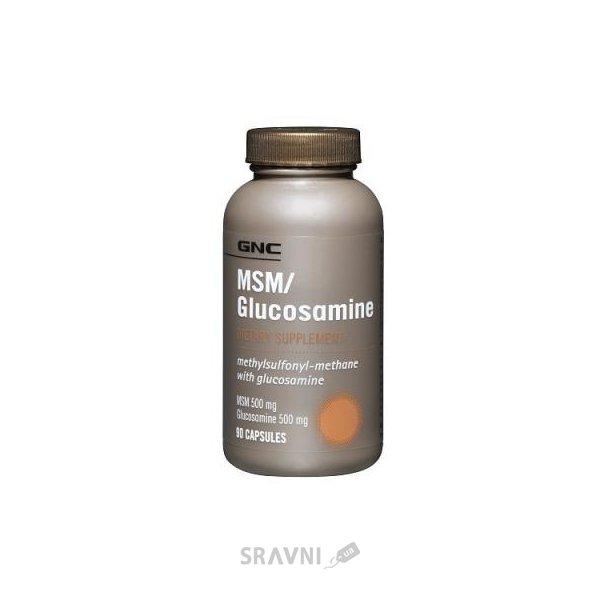 Фото GNC MSM & Glucosamine 90 caps