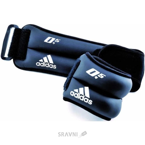 Фото Adidas Ankle/Wrist Weights 2x0,5 kg (ADWT-12227)
