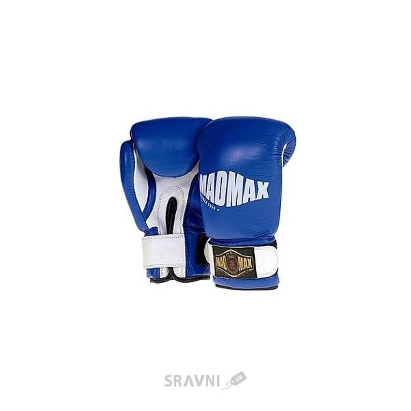 Фото MAD MAX Перчатки боксерские кожаные MBG 902