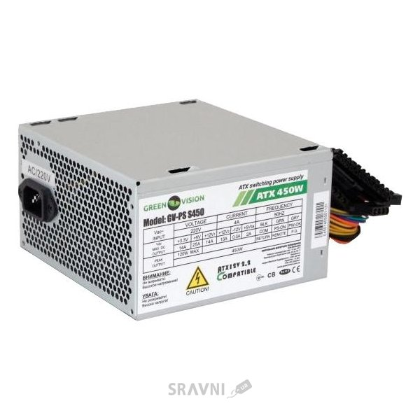 Фото GreenVision GV-PS-S450/12 450W