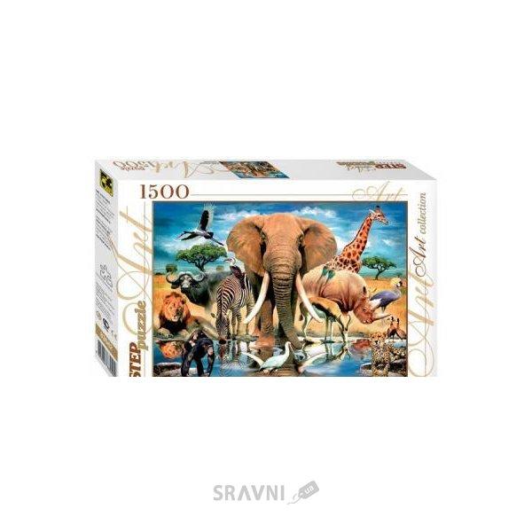 Фото Step puzzle В мире животных (1500 эл.) (83042)