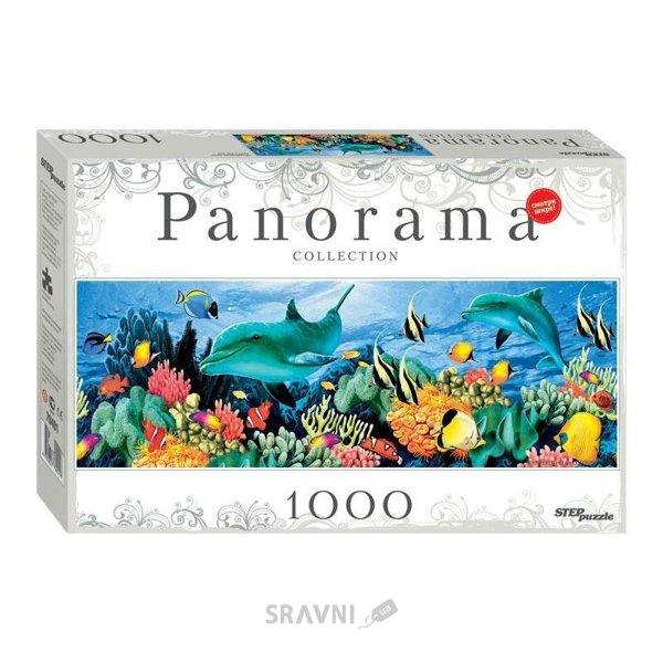 Фото Step puzzle Панорама Подводный мир (1000 эл.) (79401)