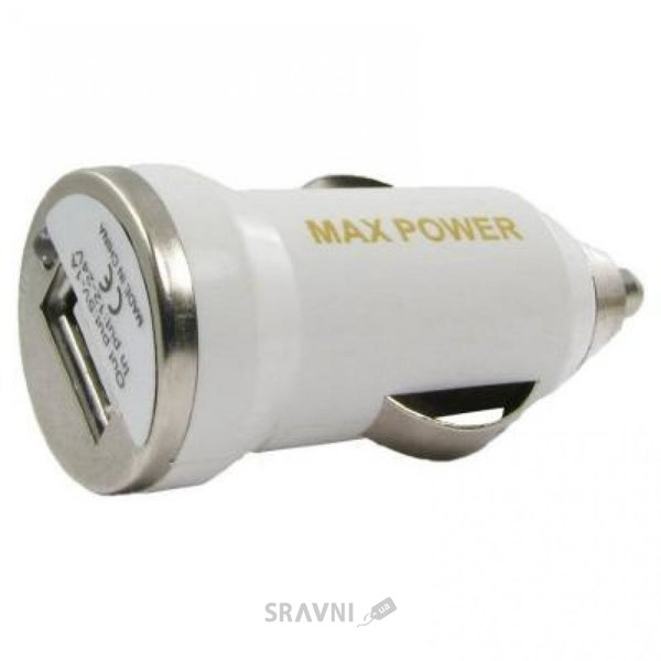 Фото MaxPower Mini 1A White (33840)