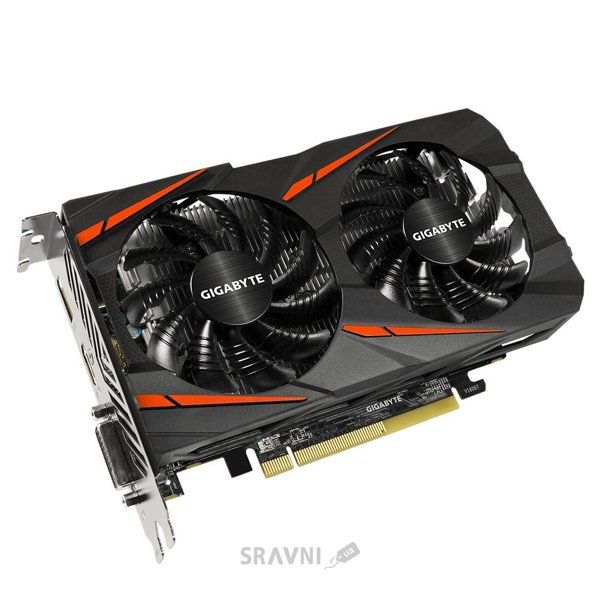 Фото Gigabyte Radeon RX460 WINDFORCE OC 4Gb (GV-RX460WF2OC-4GD)