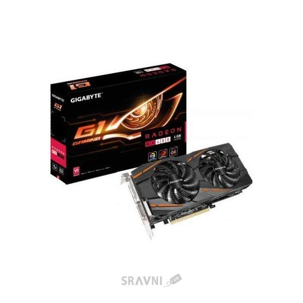 Фото Gigabyte Radeon RX 480 G1 Gaming 4Gb (GV-RX480G1 GAMING-4GD)