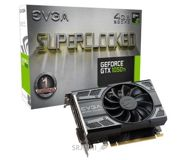 Фото EVGA GeForce GTX 1050 Ti 4Gb SC GAMING (04G-P4-6253-KR)