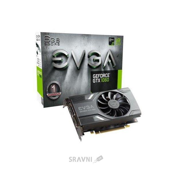 Фото EVGA GeForce GTX 1060 6Gb GAMING (06G-P4-6161-KR)