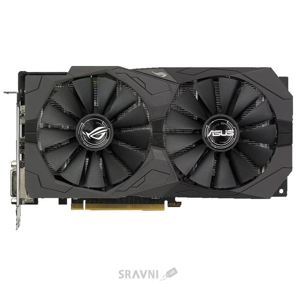 Фото ASUS Radeon RX570 ROG STRIX 4GB (STRIX-RX570-4G-GAMING)