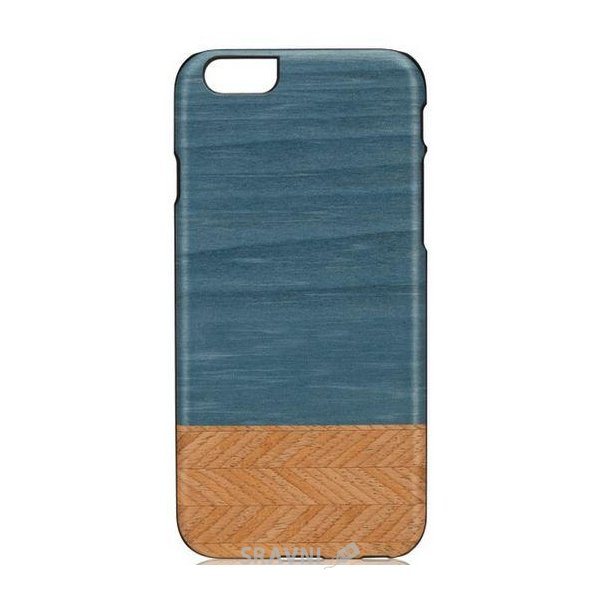 Фото Man&wood Denim/Black for iPhone 6 (M1464B)
