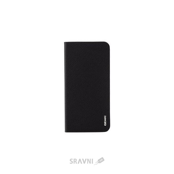 Фото Ozaki O!coat 0.4+ Folio iPhone 6 Plus Black (OC581BK)