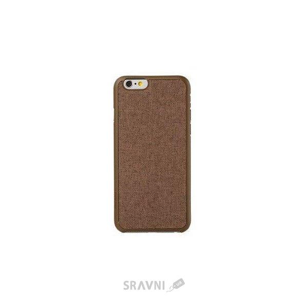 Фото Ozaki O!coat 0.3+ Canvas Brown for iPhone 6 (OC557BR)