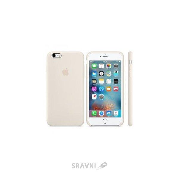 Фото Apple iPhone 6s Plus Silicone Case - Antique White (MLD22)