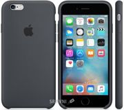 Фото Apple iPhone 6S Silicone Case - Charcoal (MKY02)