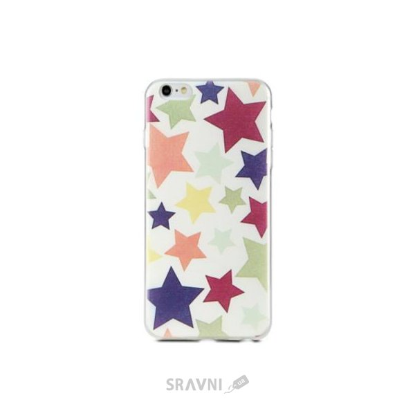 Фото Avatti Mela Pattern Thin TPU iPhone 6/6S (D7266)