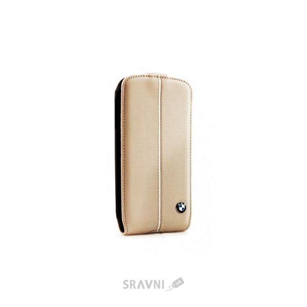 Фото BMW Samsung Galaxy S4 i9500/i9505 бежевый (BMFLS4LC)