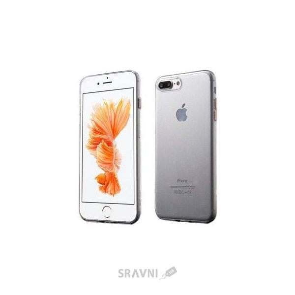 Фото Coteetci iPhone 7 Plus Ultra Thin TPU Metal Buttons Rose Gold (CS7007-MRG)