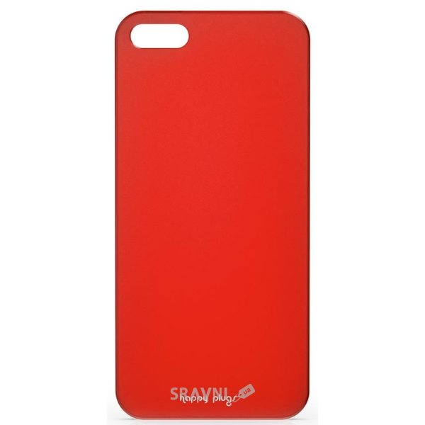 Фото Happy Plugs Ultra Thin Case iPhone 5/5S/SE Red (8801)