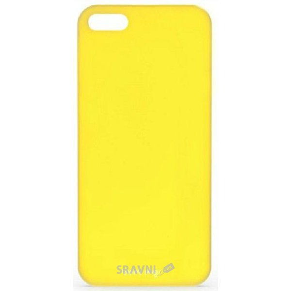 Фото Happy Plugs Ultra Thin Case iPhone 5/5S/SE Yellow (8806)