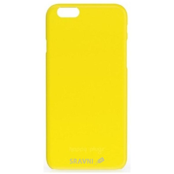 Фото Happy Plugs Ultra Thin Case iPhone 6/6S Yellow (8865)