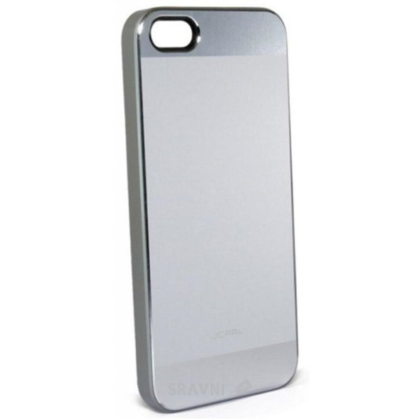 Фото JCPAL Aluminium для iPhone 5S/5 (Matte touch-Silver) (JCP3112)