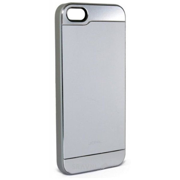 Фото JCPAL Aluminium для iPhone 5S/5 (Smooth touch-Silver) (JCP3108)