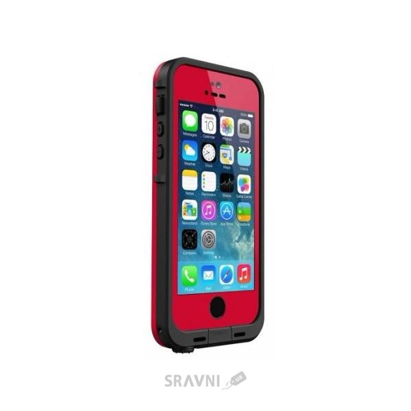 Фото LifeProof 1301-05 iPhone5 FRE Case Red/Black