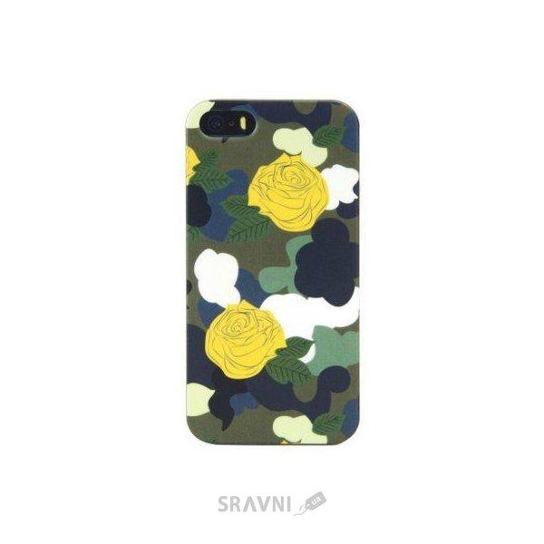 Фото Tucano Brio Camouflage iPhone SE/5S Green (IPH5SEBC-V)