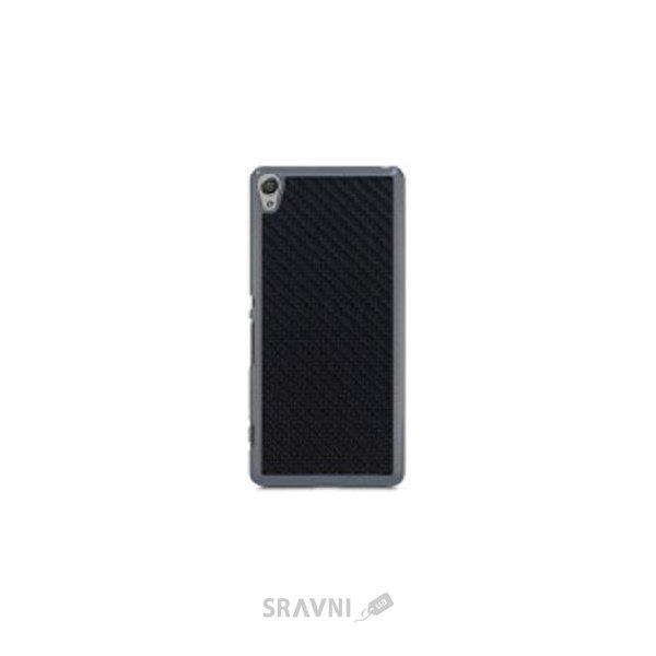 Фото Utty PC+Carbon fibre PU Sony Xperia XA F3112 Black