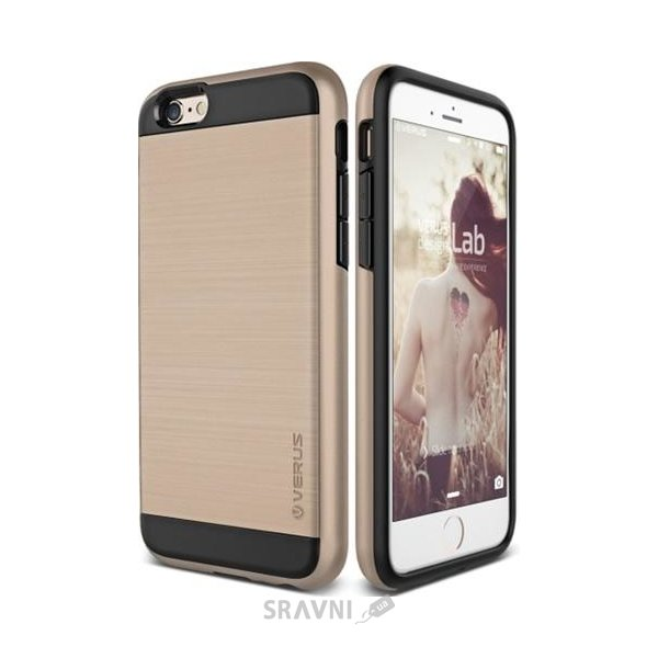 Фото Verus Verge Case for iPhone 6/6S Gold (VSIP6SVG2)