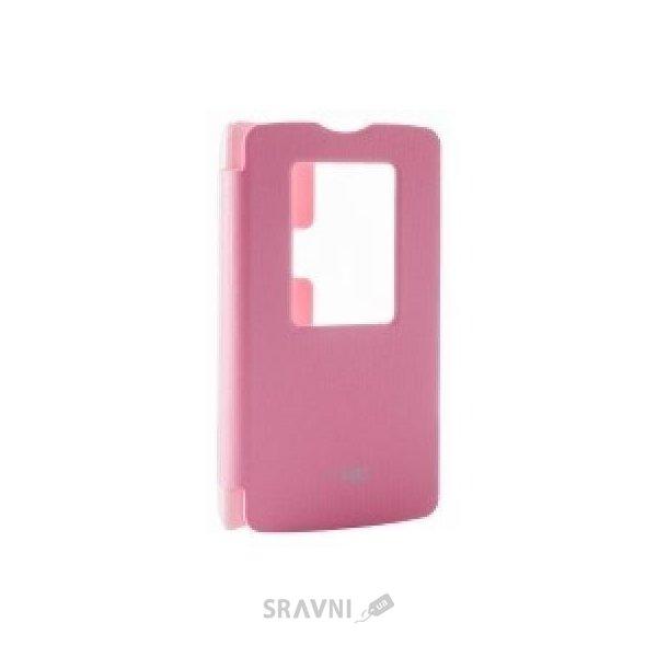 Фото VOIA LG L80 Dual D380 - Flip Case (Pink)