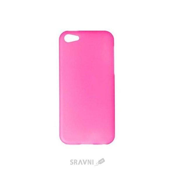 Фото Drobak Elastic PU Apple Iphone 5c (Pink) (210241)