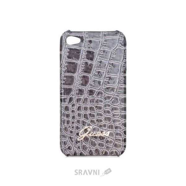 Фото Guess Back Cover Croco Grey for iPhone 4/4S (GUP4CRGR)