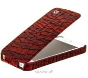 Фото Hoco Knight flip for iPhone 5 HI-L019 Red
