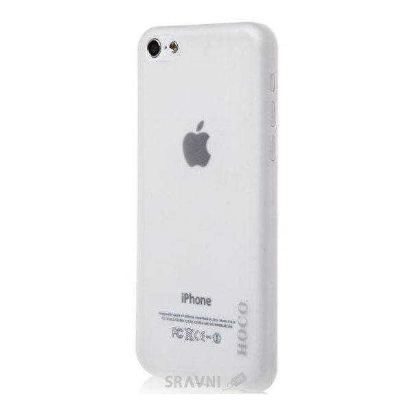 Фото Hoco Ultra Thin for iPhone 5C HI-P011 White