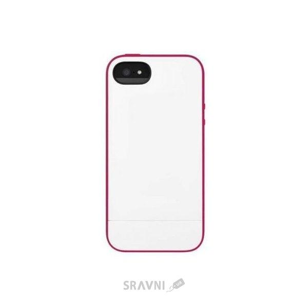 Фото Incase Pro Slider Case White/Raspberry for iPhone 5/5S (CL69045)