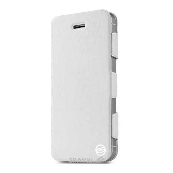 Фото Itskins Plume Artificial for iPhone 5/5S White/Silver (APH5-PLUME-WHSL)